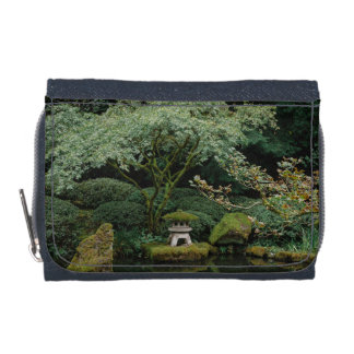 Serenity at a Japanese Garden Wallets