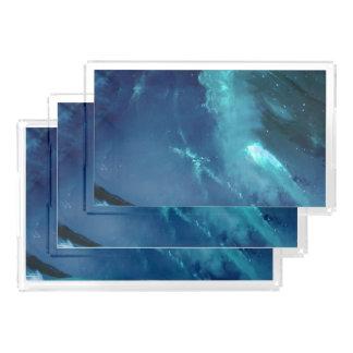 Serenity Bay Acrylic Tray