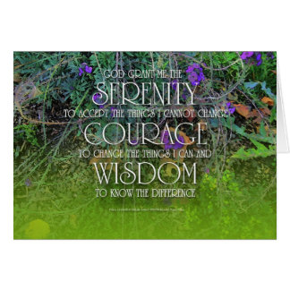 Serenity Courage Wisdom 2 Card