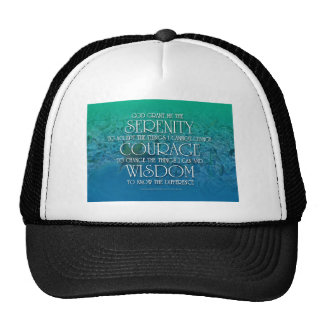 Serenity, Courage, Wisdom Cap