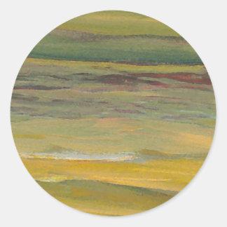 Serenity - CricketDiane Ocean Art Classic Round Sticker