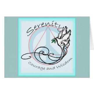 Serenity Dove Card