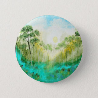 Serenity From Original Painting 6 Cm Round Badge