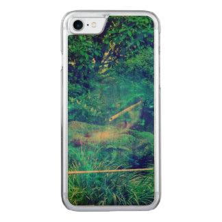 Serenity in the Garden Carved iPhone 8/7 Case