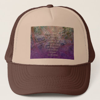 Serenity Incense Cedar Trucker Hat