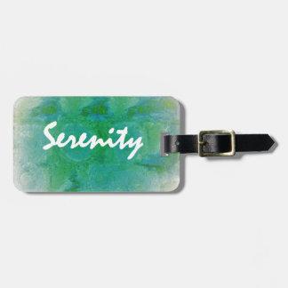 Serenity Luggage Tag
