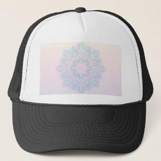 Serenity mandala trucker hat