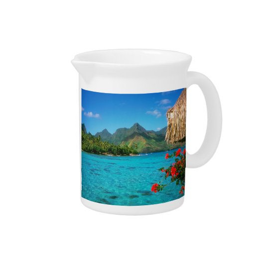Serenity Prayer & Bora Bora 2-SIDED Pitcher