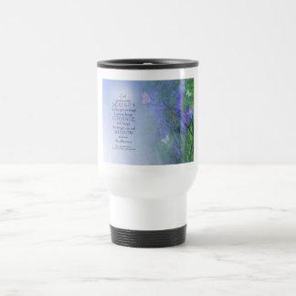 Serenity Prayer Butterflies & Vetch Travel Mug
