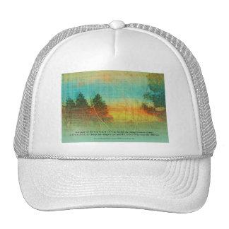 Serenity Prayer Colorful Trees Cap