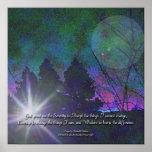 Serenity Prayer Dawning Poster
