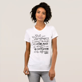 Serenity Prayer Faith Women's Shirt