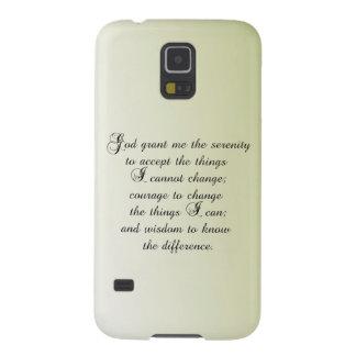 Serenity Prayer Galaxy S5 Cases