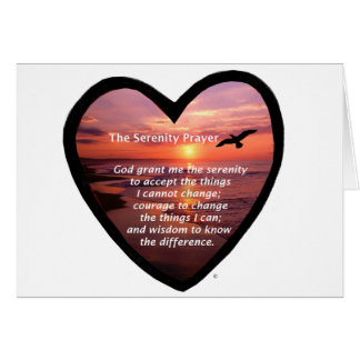 Serenity Prayer Greeting Card