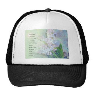 Serenity Prayer Hyacinth Blend Cap