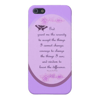 Serenity Prayer iPhone 5 Case