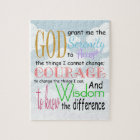 Serenity Prayer Jigsaw Puzzle