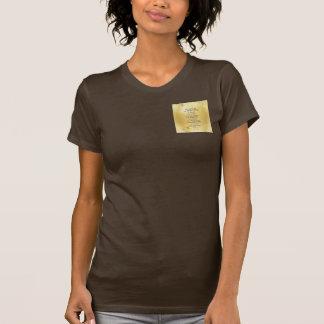 Serenity Prayer Kelt on Yellow T-Shirt