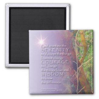 Serenity Prayer Madrone Magnet