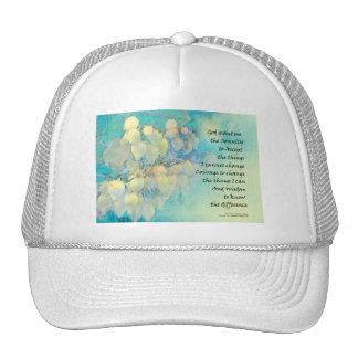 Serenity Prayer Manzanita Cap