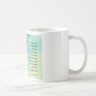 Serenity Prayer Manzanita Coffee Mug