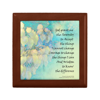 Serenity Prayer Manzanita Gift Box