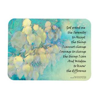 Serenity Prayer Manzanita Magnet