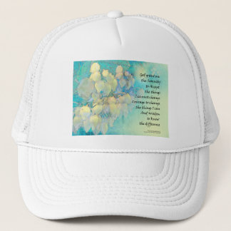 Serenity Prayer Manzanita Trucker Hat