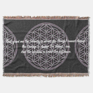 Serenity Prayer - Meditation Blanket