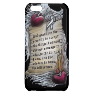 Serenity Prayer on Cell Phone Cover