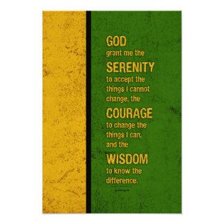 Serenity Prayer: Patriotic Jamaica, Strength/Recov Photo Art