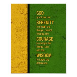Serenity Prayer: Patriotic Jamaica, Strength/Recov Photograph