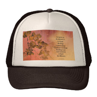 Serenity Prayer Quince Fence One Cap