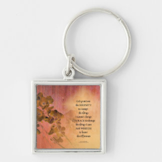 Serenity Prayer Quince Fence One Key Ring