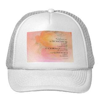 Serenity Prayer Rose Glow Cap