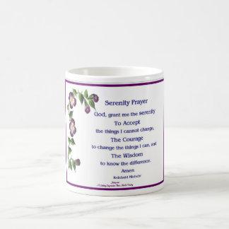 Serenity Prayer Short Coffee Mug