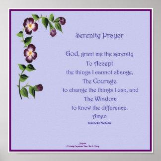 Serenity Prayer Short Poster