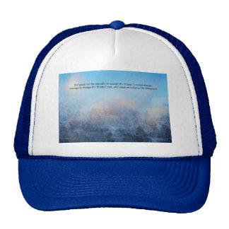 Serenity Prayer Sky and Trees Abstract Cap
