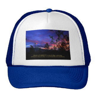 Serenity Prayer Spring Sunrise Cap