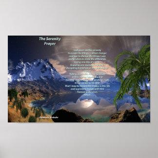 Serenity Prayer Value Poster Paper