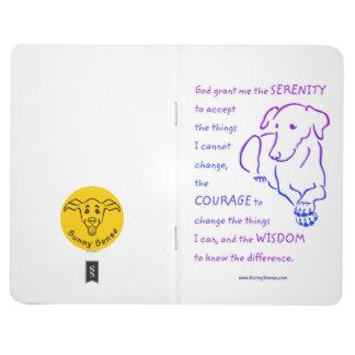 Serenity Prayer w/Dog Pocket Journal