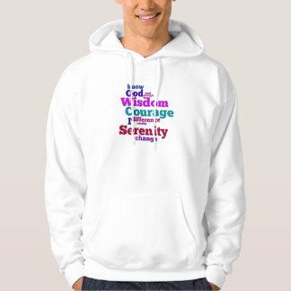 Serenity Prayer Wordle Hoodie