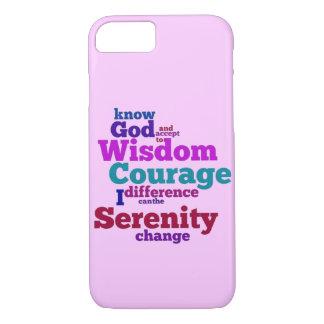 Serenity Prayer wordle iPhone 8/7 Case