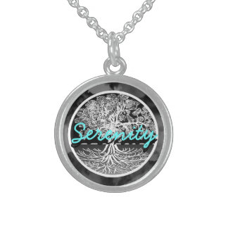 Serenity Sterling Silver Necklace