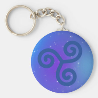 Serenity symbol key ring