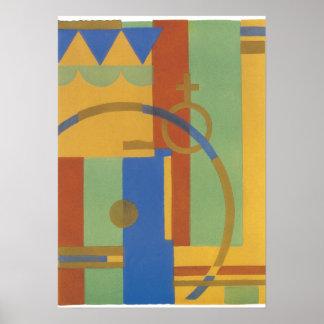 Serge Gladky Jazz Art Poster