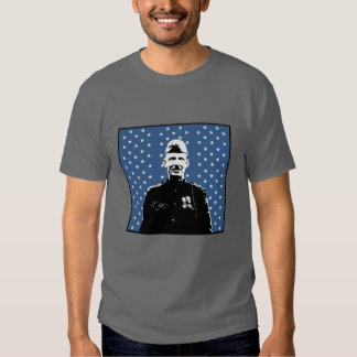 Sergeant Alvin York and MOH Flag T Shirt