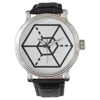 Sergeant (+) / Custom Black Vintage Leather Watch