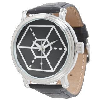 Sergeant (-) / Custom Black Vintage Leather Watch