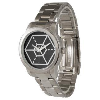 Sergeant (-) / Custom Oversized Silver Bracelet Watch